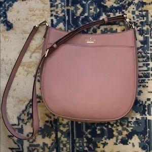 Kate Spade Pink crossbody bag.